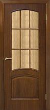 Дверне полотно Капрі СС кора бронза шпон Оміс