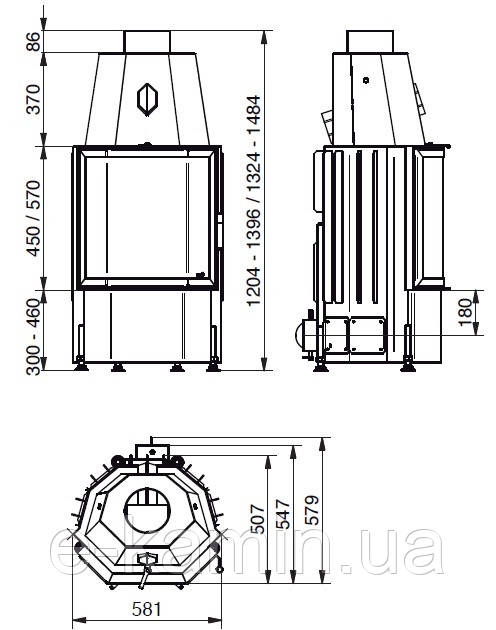 hark radiante 600 57 k ecoplus. Black Bedroom Furniture Sets. Home Design Ideas