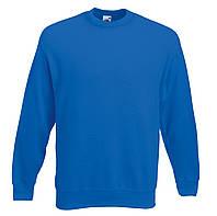 Мужской классический свитер Ярко-синий Fruit Of The Loom 62-202-51 S