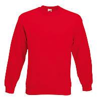 Мужской классический свитер Красный Fruit Of The Loom 62-202-40 S