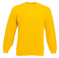 Мужской классический свитер Солнечно-жёлтый Fruit Of The Loom 62-202-34 M, фото 1