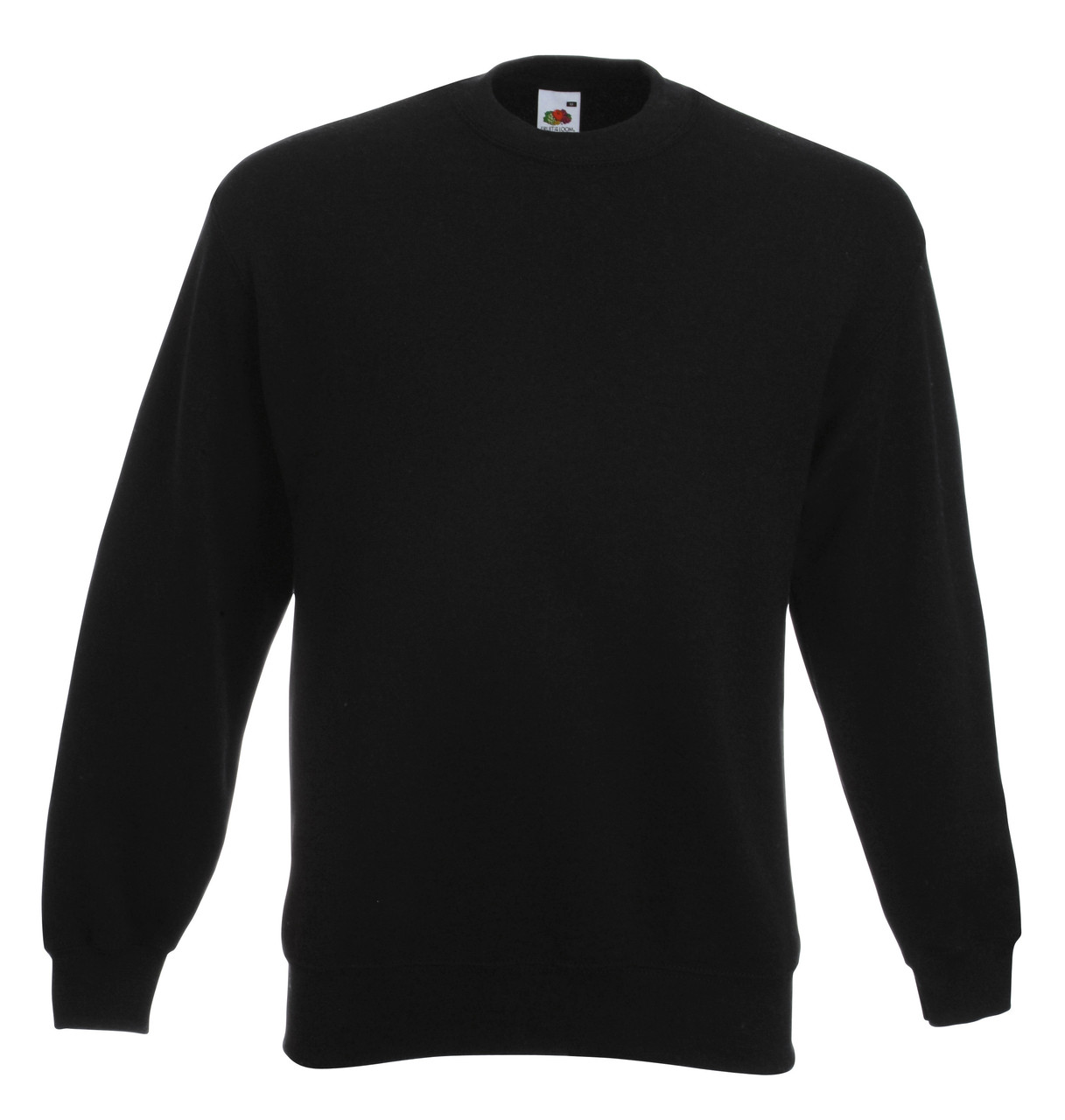 Мужской классический свитер Чёрный  Fruit Of The Loom 62-202-36  M