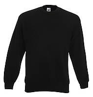 Мужской классический свитер Чёрный  Fruit Of The Loom 62-202-36  M, фото 1