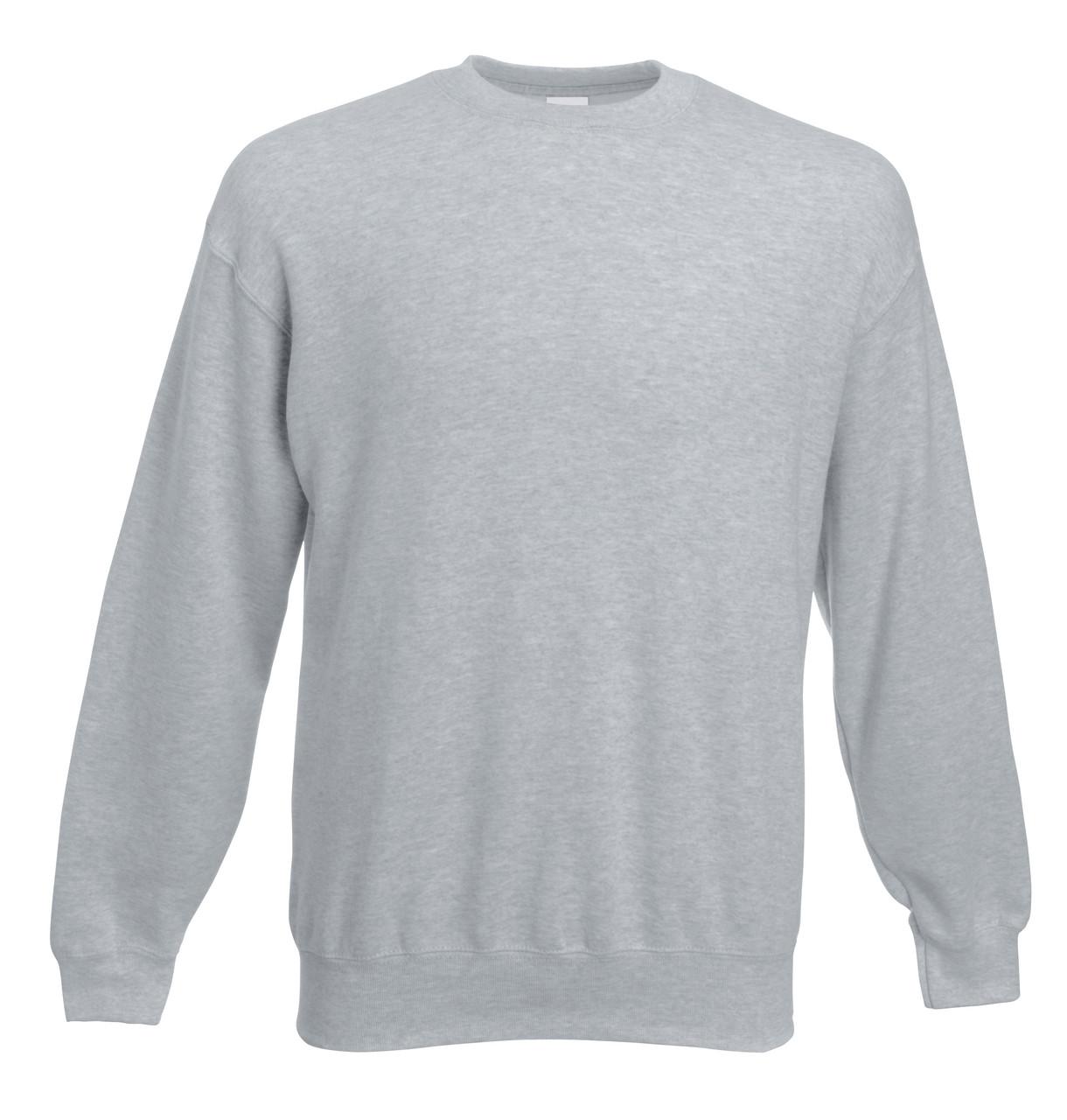 Мужской классический свитер Серо-лиловый Fruit Of The Loom 62-202-94 M