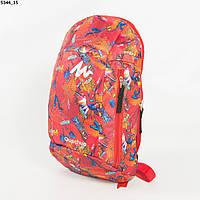 Оптом рюкзак для сменки для мальчиков - красный - 5344, фото 1
