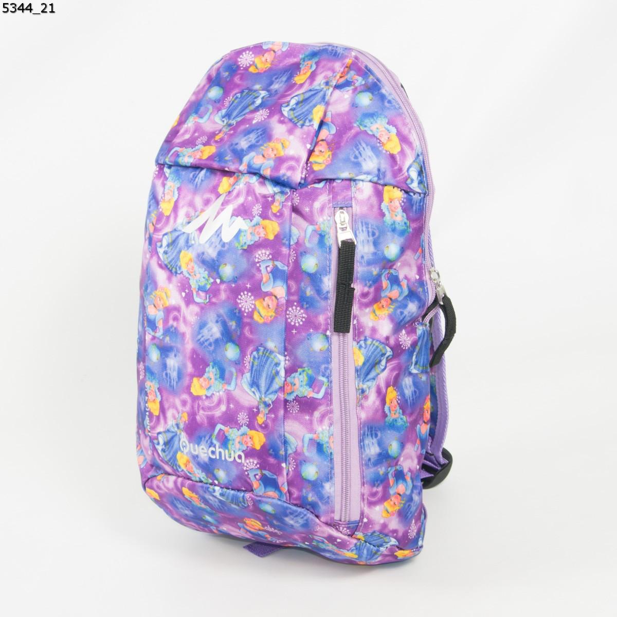 Оптом рюкзак для сменки  для девочек - сиреневый - 5344