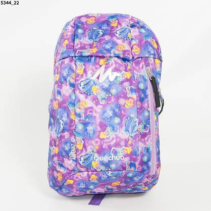 Оптом рюкзак для сменки  для девочек - сиреневый - 5344, фото 2