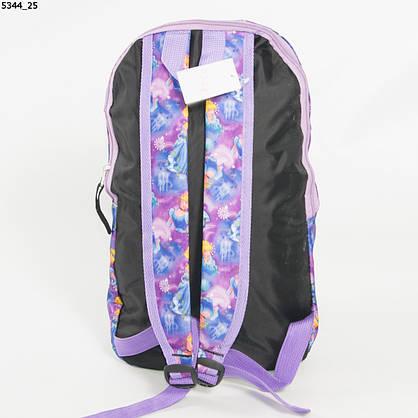 Оптом рюкзак для сменки  для девочек - сиреневый - 5344, фото 3
