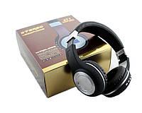 Наушники беспроводные bluetooth microSD FM MP3 471 Black, фото 1