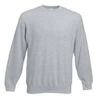 Мужской классический свитер Серо-лиловый Fruit Of The Loom 62-202-94 L
