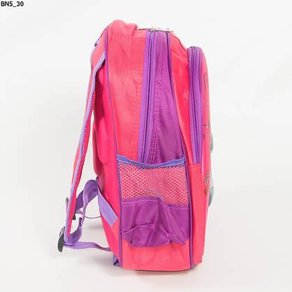 Оптом школьный рюкзак для девочки с 3Д рисунком и жесткой спинкой - розовый - BN5, фото 2