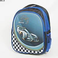 Оптом школьный рюкзак для мальчика с 3D рисунком и жесткой спинкой - синий - BN5, фото 1