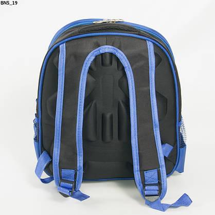 Оптом школьный рюкзак для мальчика с 3D рисунком и жесткой спинкой - синий - BN5, фото 3