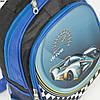 Оптом школьный рюкзак для мальчика с 3D рисунком и жесткой спинкой - синий - BN5, фото 2