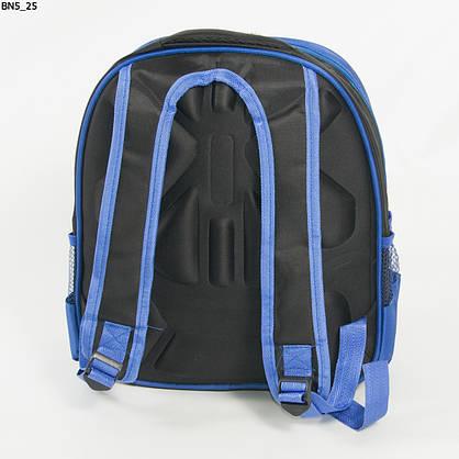 Оптом школьный рюкзак для мальчика с 3Д рисунком и жесткой спинкой - черно-синий- BN5, фото 3