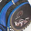 Оптом школьный рюкзак для мальчика с 3Д рисунком и жесткой спинкой - черно-синий- BN5, фото 2