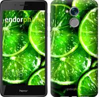 """Чехол на Huawei Honor 6C Зелёные дольки лимона """"852u-1034-601"""""""