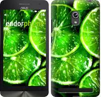"""Чехол на Asus ZenFone 6 A600CG Зелёные дольки лимона """"852u-143-601"""""""