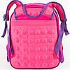 Оптом школьный рюкзак для девочки с жесткой спинкой - розовый - 11-3664, фото 2