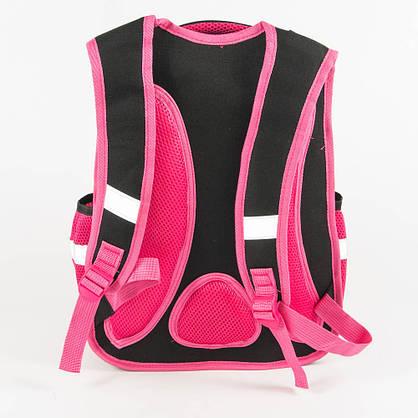 Оптом школьный рюкзак для девочки с ортопедической спинкой - розовый - Y032, фото 3
