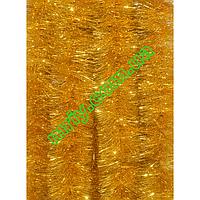 Новогодняя мишура Д10 наб желтый