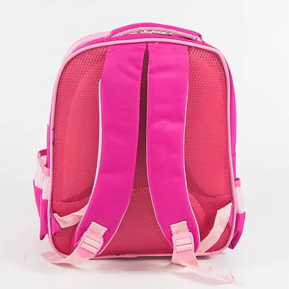 Оптом школьный/прогулочный рюкзак для девочек - розовый - 11-889, фото 3