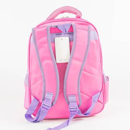 Оптом школьный/прогулочный рюкзак для девочек - розовый - 14-1713, фото 3