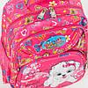 Оптом школьный рюкзак для девочек с ортопедической спинкой с собачкой - розовый - 31-Y020-1, фото 3