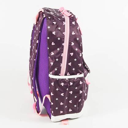 Оптом школьный/прогулочный рюкзак для девочек 3 в 1 - вишневый - 6-8325-2, фото 2