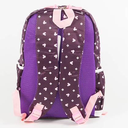 Оптом школьный/прогулочный рюкзак для девочек 3 в 1 - вишневый - 6-8325-2, фото 3