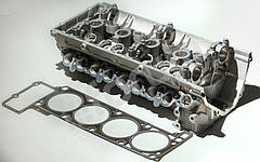 Головка блока цилиндров (ГБЦ 40624.3906562-20) Е-IV / E-V Газель, УАЗ с клапанами, прокладкой и крепежом