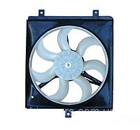 Вентилятор радиатора охлаждения правый (на три крепления) Geely CK / Джили СК 1016003508