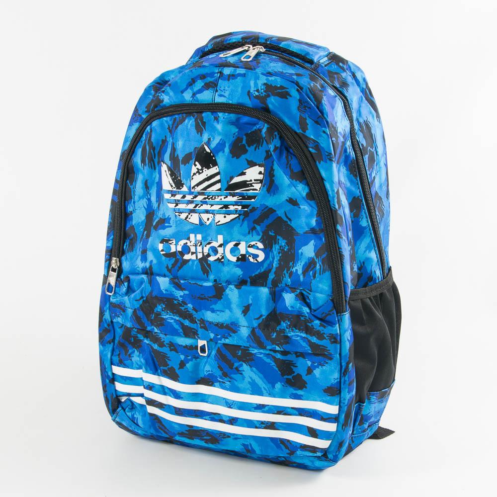 Оптом рюкзак спортивный Adidas - синий - adi9-2