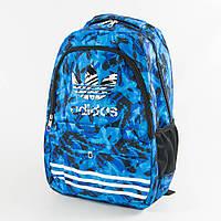 Оптом рюкзак спортивный Adidas - синий - adi9-2, фото 1