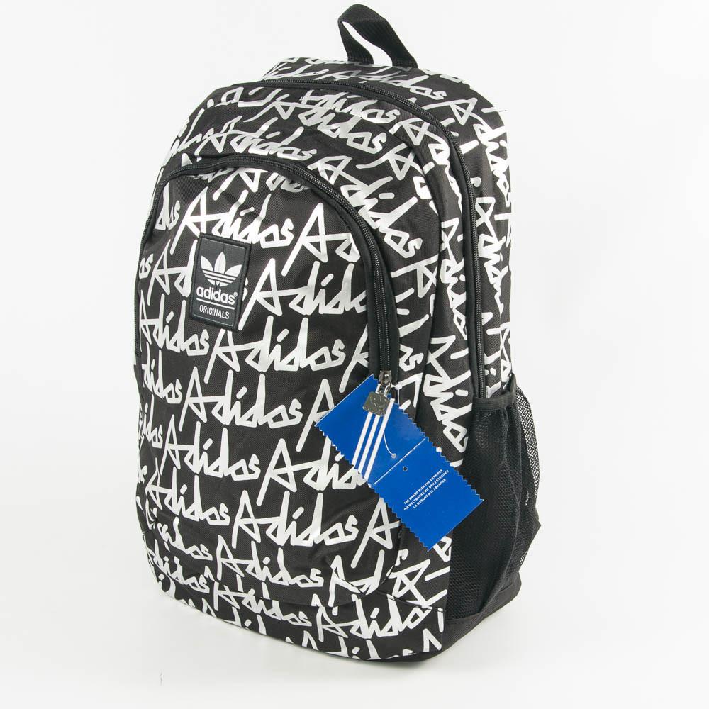 Оптом спортивний рюкзак Адідас - чорний - 0013