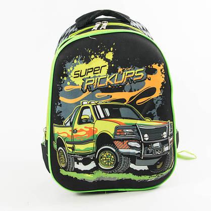Оптом шкільний рюкзак для хлопчика з ортопедичною спинкою - чорний - 10-665, фото 2