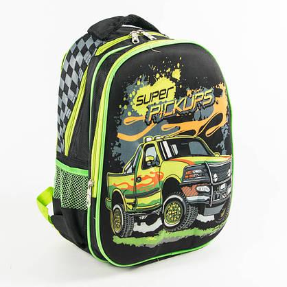 Оптом школьный рюкзак для мальчика с ортопедической спинкой - черный - 10-665, фото 3