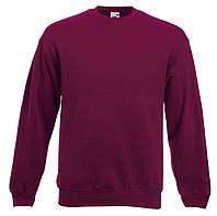 Мужской классический свитер Бордовый Fruit Of The Loom 62-202-41 Xl