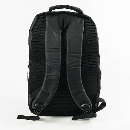 Оптом спортивный рюкзак Nike черный с синим - 876, фото 3