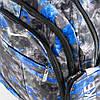 Оптом рюкзак спортивный Nike черный с синим - 926, фото 2