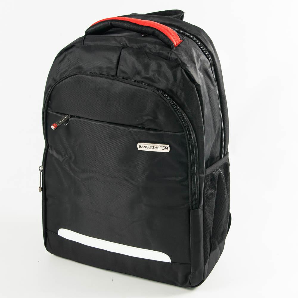 Оптом крепкий рюкзак для школы и прогулок - черный - 6-F17-10