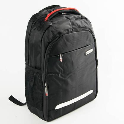 Оптом крепкий рюкзак для школы и прогулок - черный - 6-F17-10, фото 3