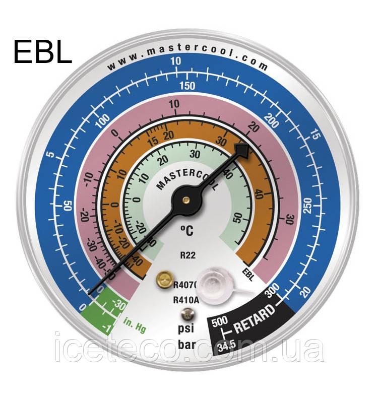 Манометр LBP низкого давления на R22, 407c, 410с  MC EBL Mastercool