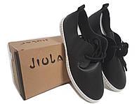 Кожаные кроссовки мокасины женские