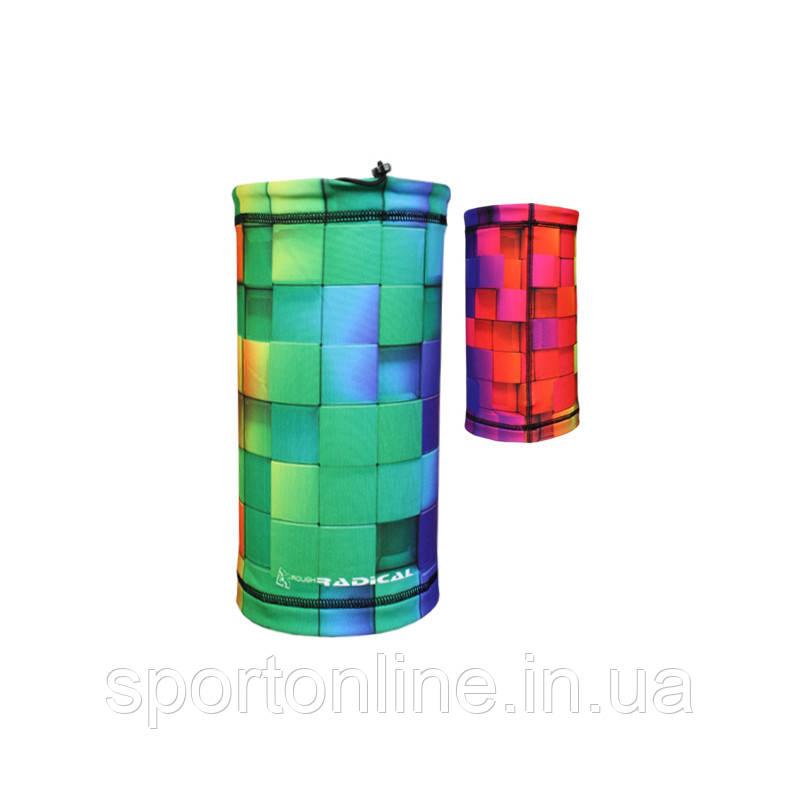 Мультифункциональный бафф 5в1 Radical (original) в квадраты