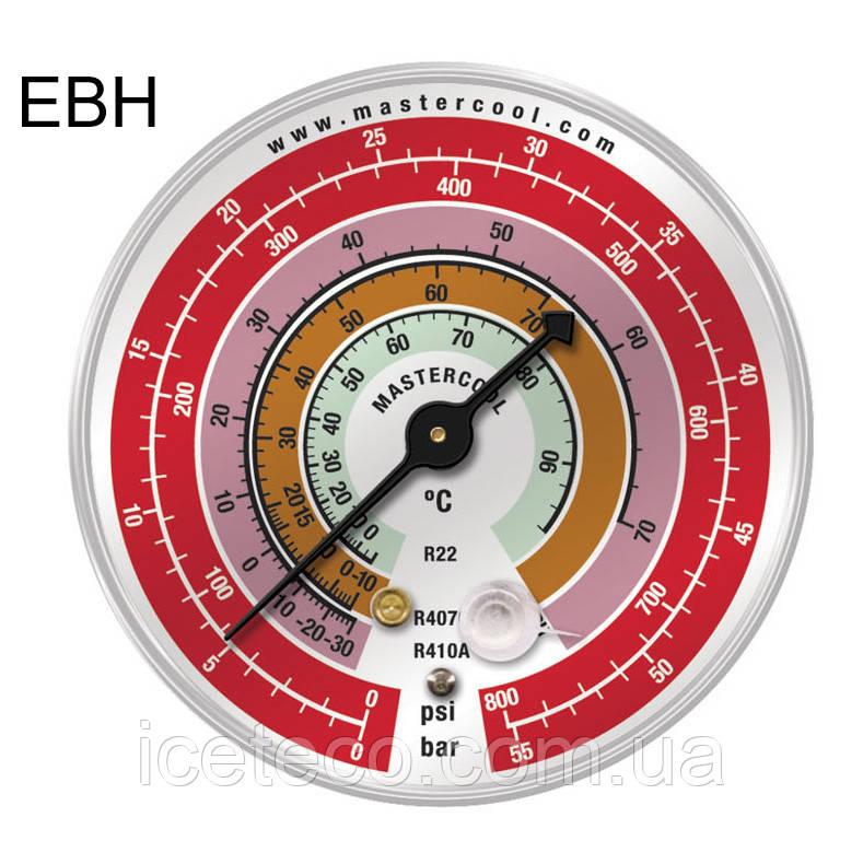 Манометр EBH - HBP высокого давления на R-22, 407c, 410с; Bar/psi/°C