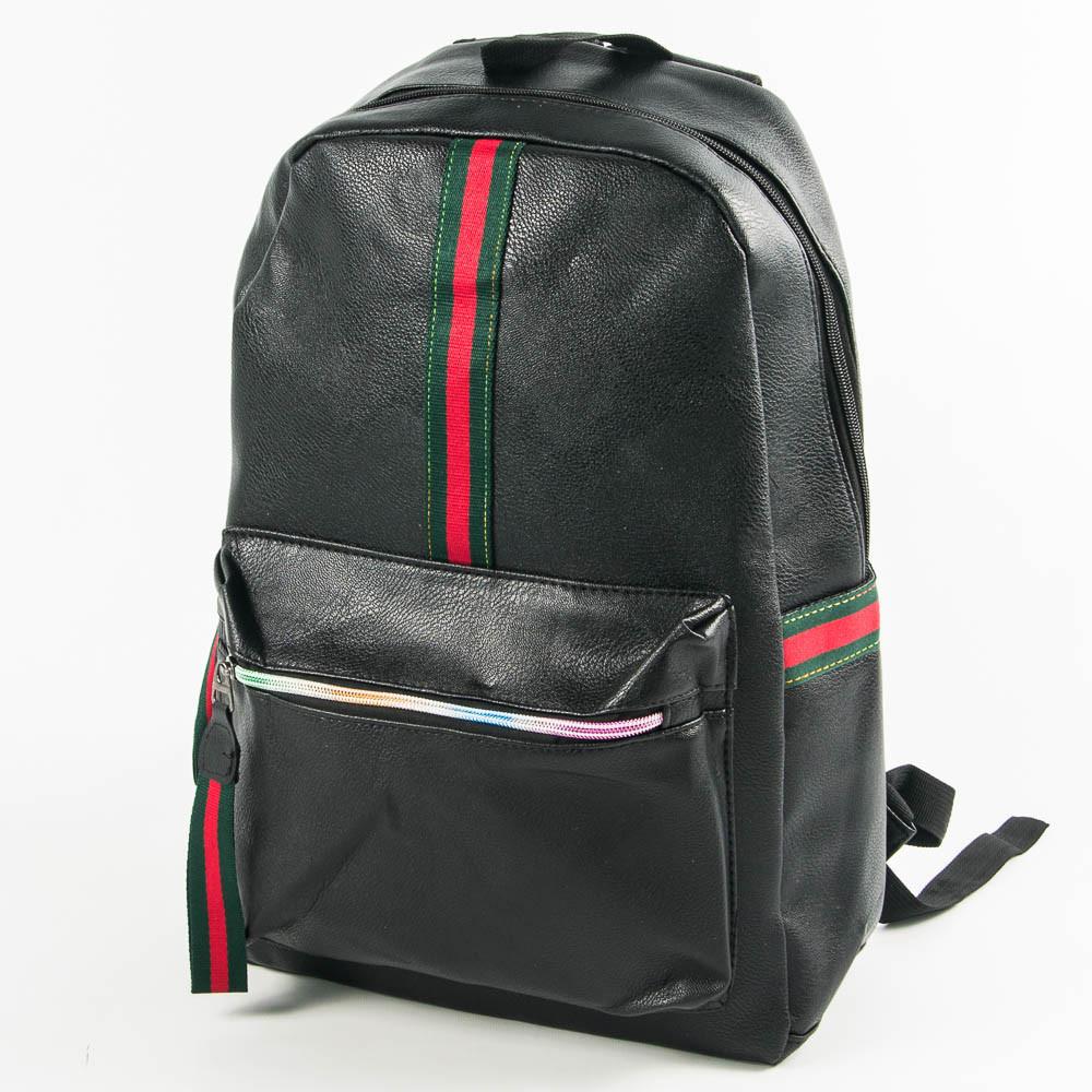 Оптом рюкзак из эко-кожи для прогулок - черный - 29-532