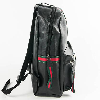 Оптом рюкзак из эко-кожи для прогулок - черный - 29-532, фото 2