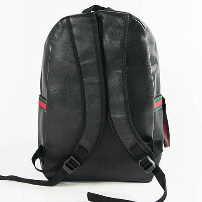 Оптом рюкзак из эко-кожи для прогулок - черный - 29-532, фото 3