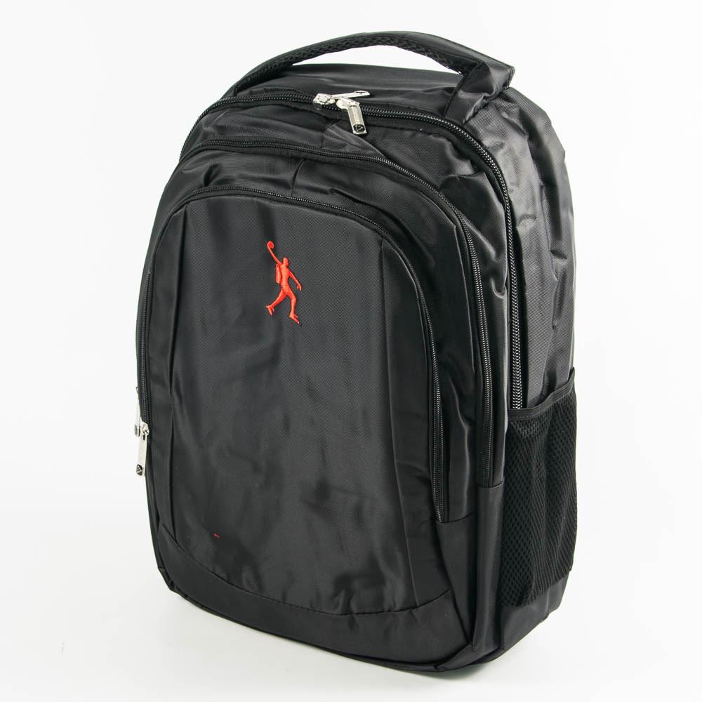 Оптом универсальный рюкзак для школы и прогулок - черный - 3002